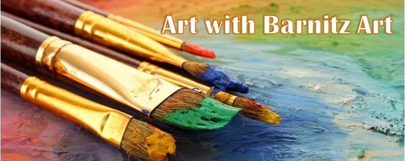 Art with Barnitz Art Website Banner