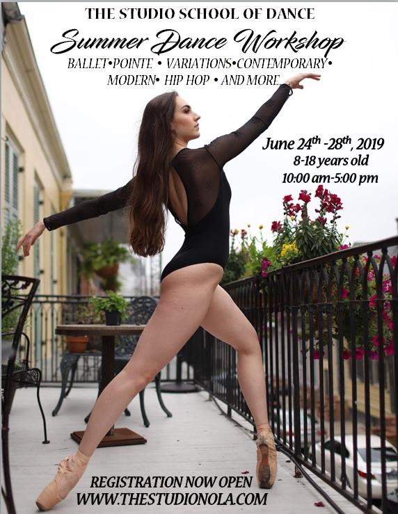 Summer Dance Workshop Flyer